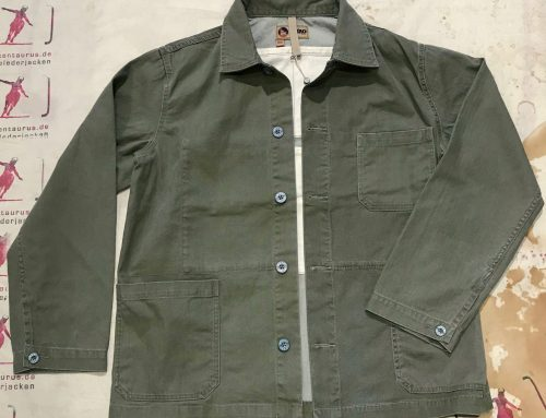 Nigel Cabourn mixed field jacket