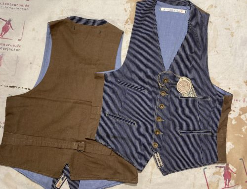 Scartilab 410SW362 Hickory Stripe 100% Cotton Vest