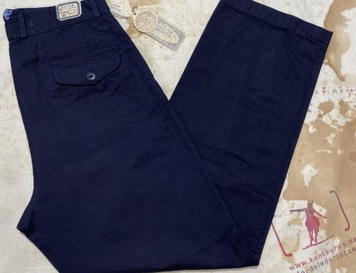 Scartilab 130SM273 100% cotton wide leg pant blue