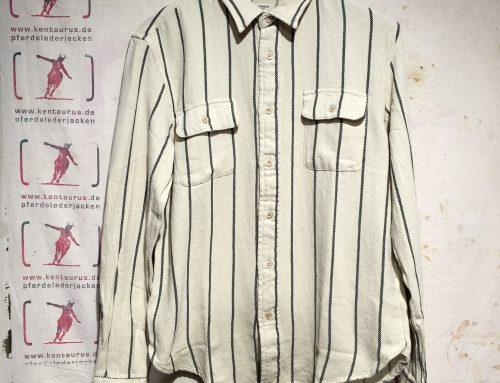 Levi`s Vintage shorthorn shirt ecru