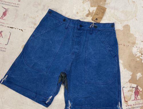 Fleur de Bagne shorts indigo