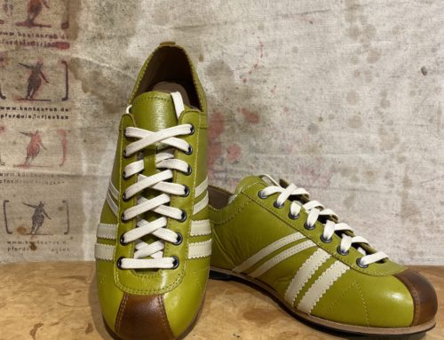 Zeha club lime green/brown/beige
