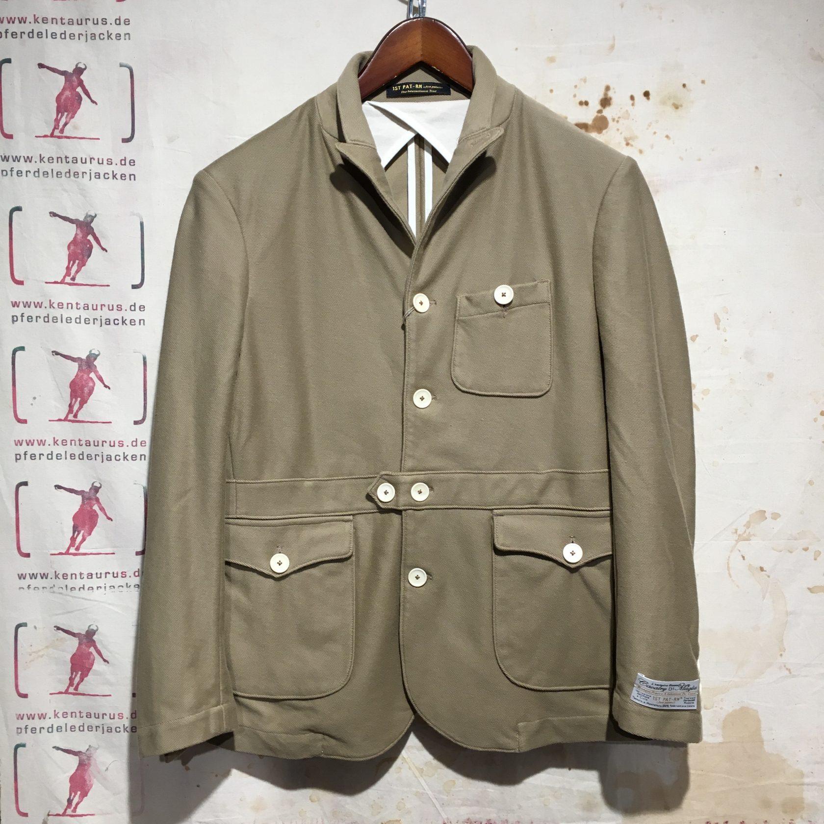 1st Pat-Rn cavalry jacket khaki