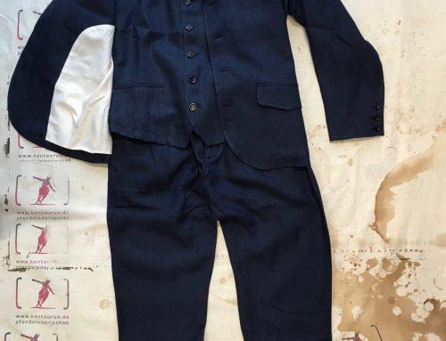 Hansen 3 piece suit linen