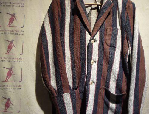 Hawick Jacket blue stripe