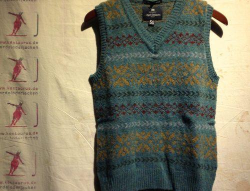 Nigel Cabourn fair isle vest