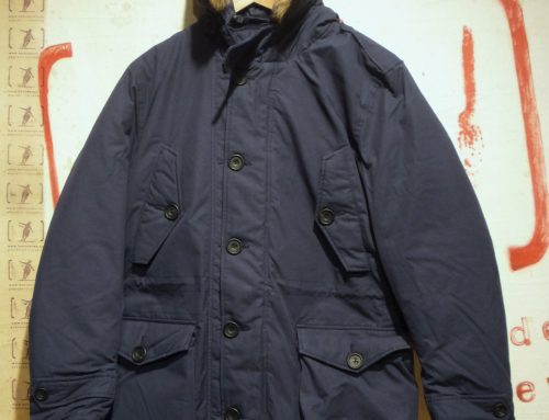 tailored ventile parka
