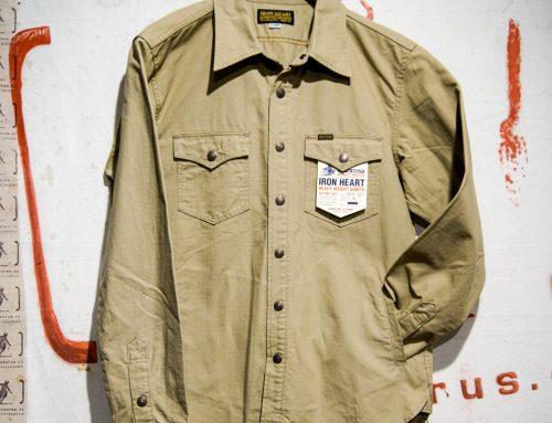 IHSH-187 khaki ripstop CPO shirt
