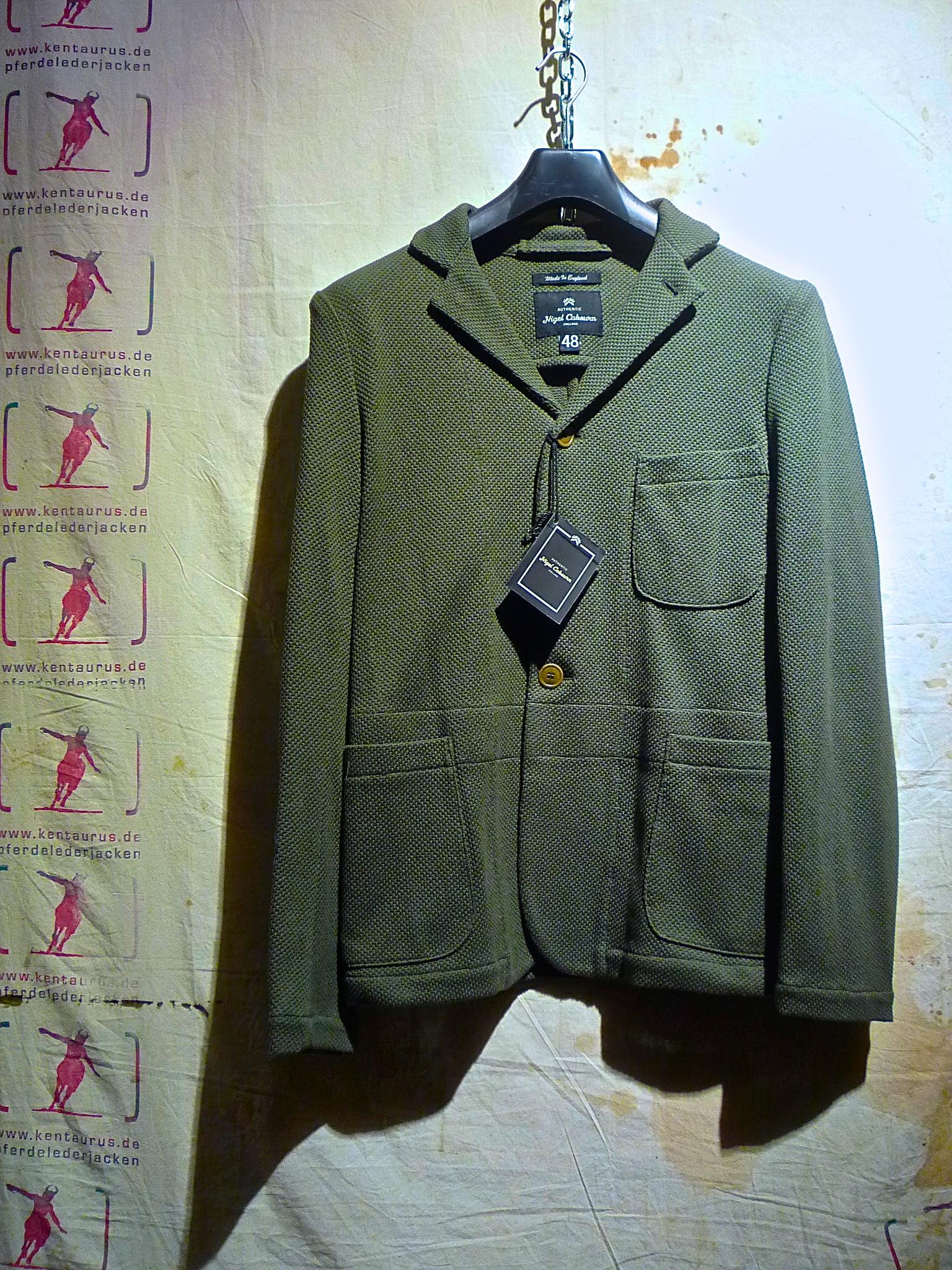 Nigel Cabourn cricket jacket olive