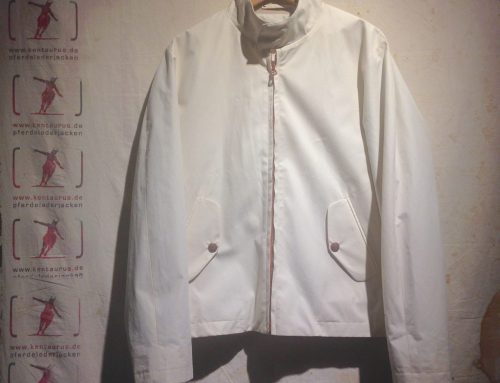 Private White harrington jacket ventile white