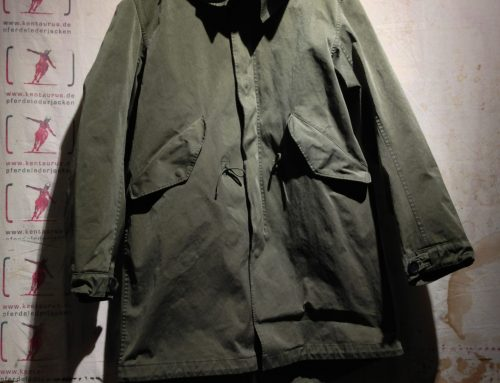 Ten C Fishtail Parka olive