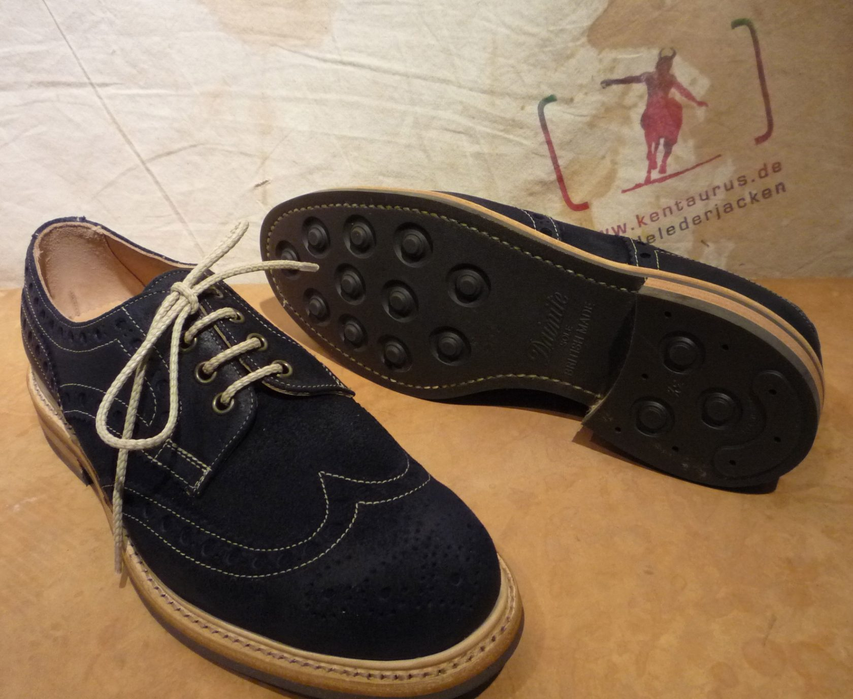 Cheaney`s Avon navy split