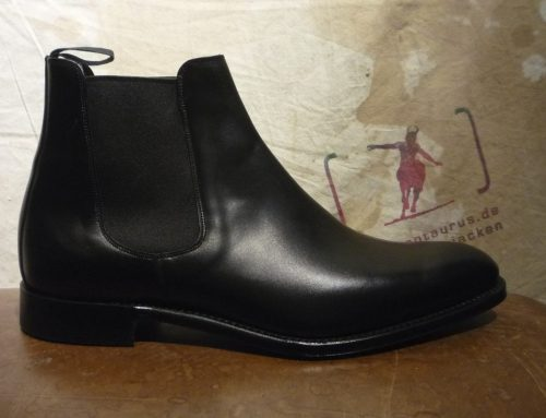 Threadneedle black calf