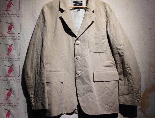 Nigel Cabourn 3 piece suit crinkle cotton