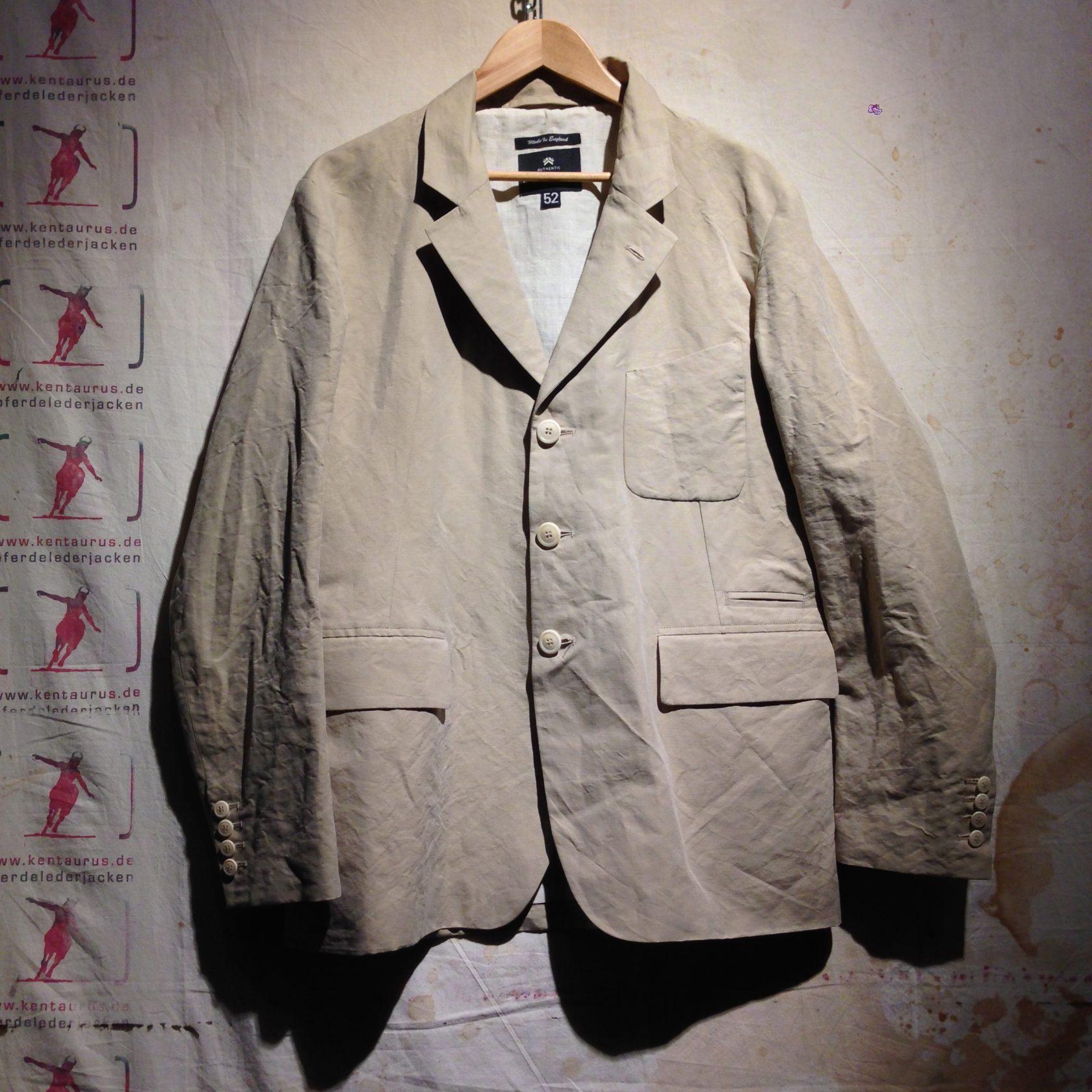 Nigel Cabourn 3 piece suit crinkle cotton