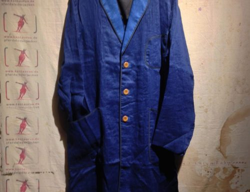 Haversack long jacket indigo