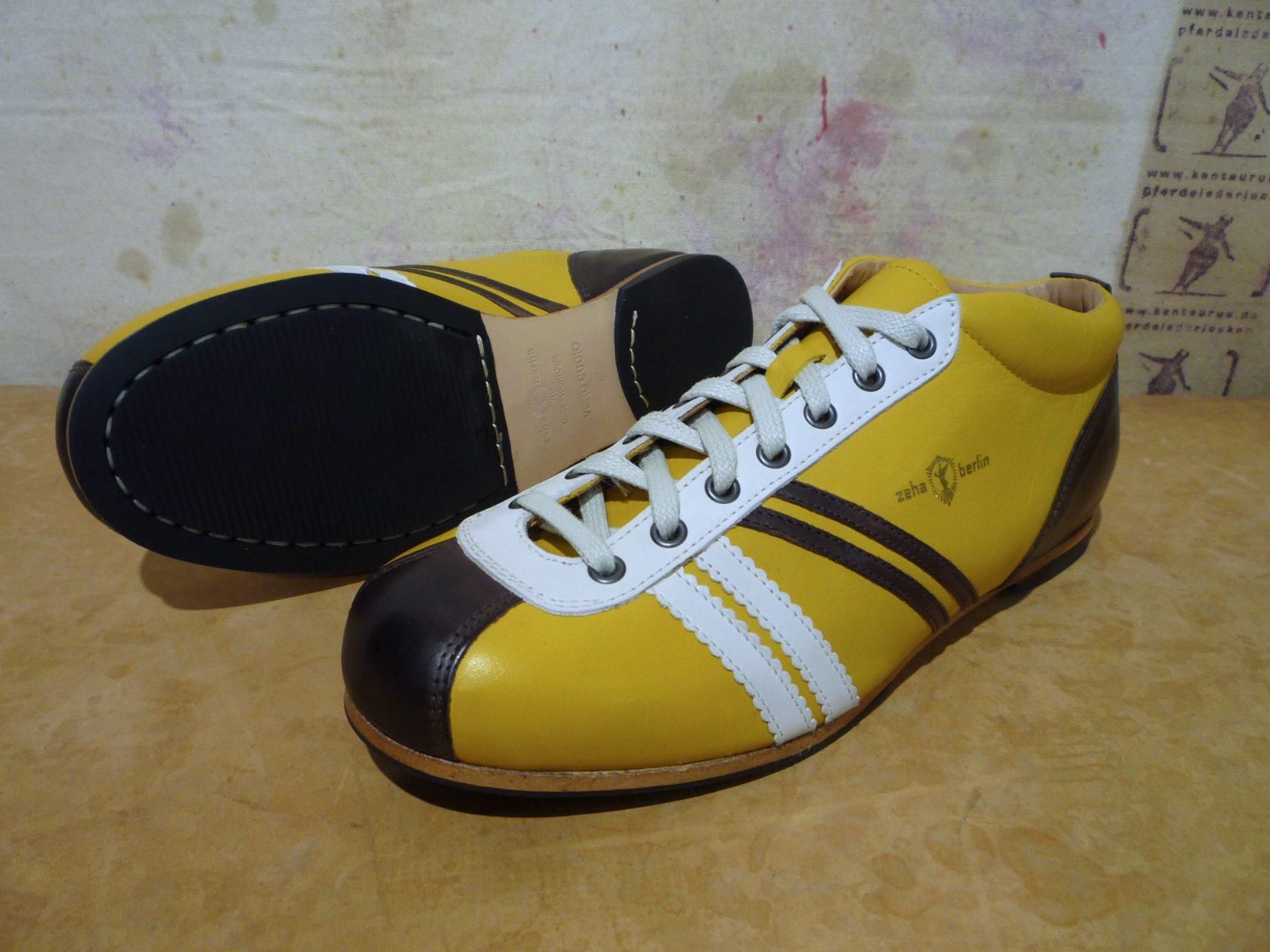 Zeha liga camel yellow